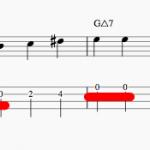 同じ音がふたつ続くウォーキングベースラインって変ですか?