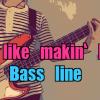 16ビートのベースラインの作り方!Feel Like Makin' Loveのベースラインを弾いてみた【スコア・タブ譜つき】