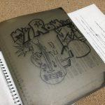 昔の練習ノートが出てきました