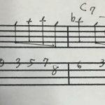 コピーしたフレーズを自分のソロの中にはめ込む練習(仕込み練習応用編)